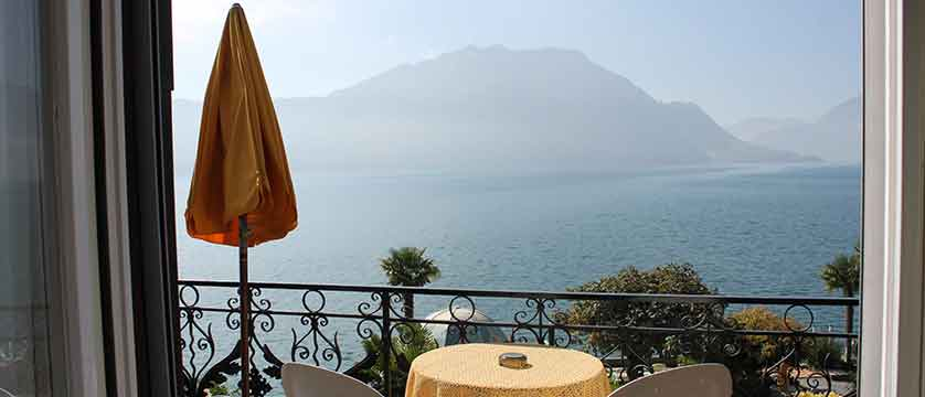 Hotel Beau Rivage, Weggis, Lake Lucerne, Switzerland - view from the hotel balcony.jpg